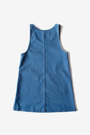 Caroline Jumper Dress - Denim