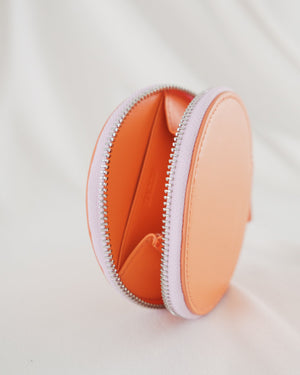 Circle Wallet - Orange Sherbet