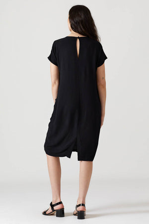 Cocoon Dress - Black