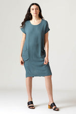 Cocoon Dress - Deep Forest