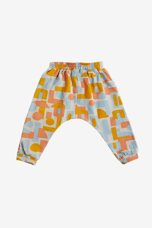 Decades Organic Harem Pants - Fog
