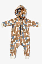 Decades Hooded Jumpsuit - Natural