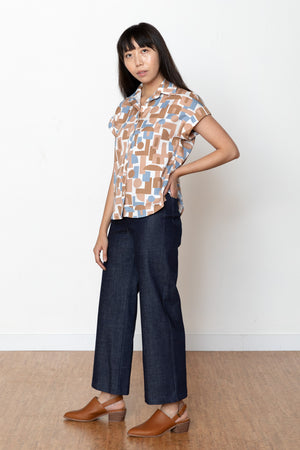 Decades Judy Blouse - Natural