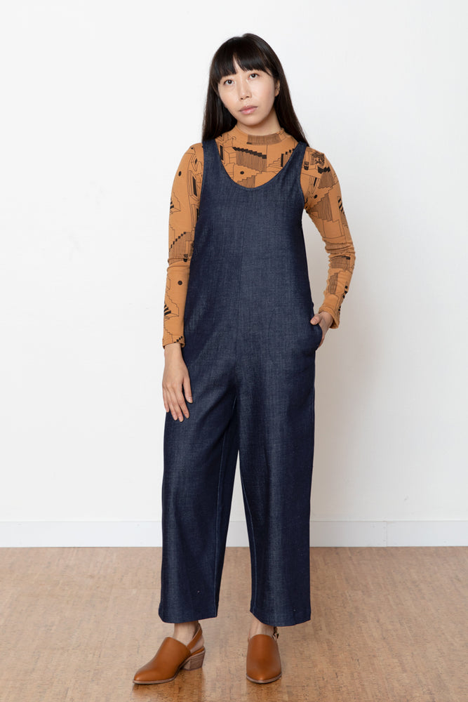 Carmen Jumpsuit - Denim
