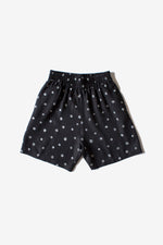 Kelly Short - Black - Dots Print