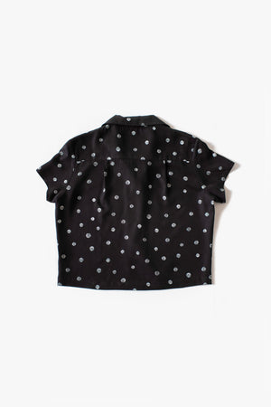 Rizo Blouse - Black - Dots Print