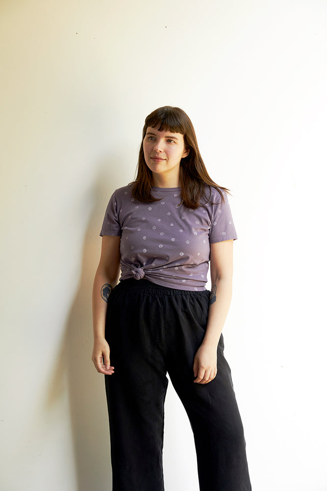 Taylor Tee - Moonscape - Dots Print