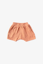 Double Cloth Shorts - Almond