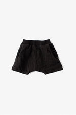Double Cloth Shorts - Black