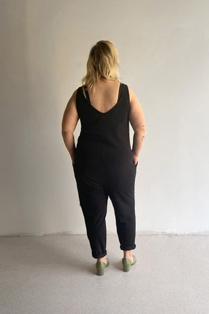 Parker Jumpsuit - Black