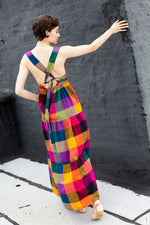 Gema Tier Dress - Multi Chex