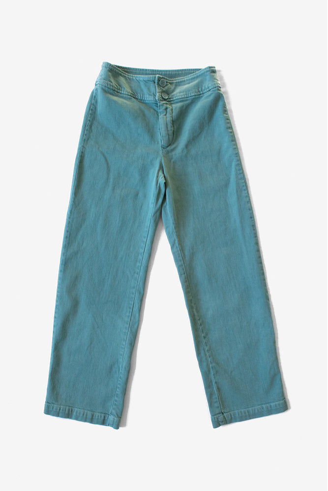 Monica High Rise Jean - Atlantic