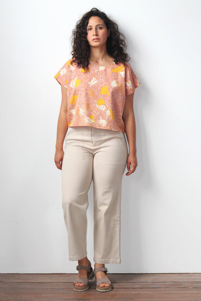 Betsy Blouse - Sunset - Fantasy Print