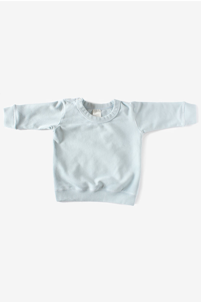 Organic Sweatshirt - Sea Mist