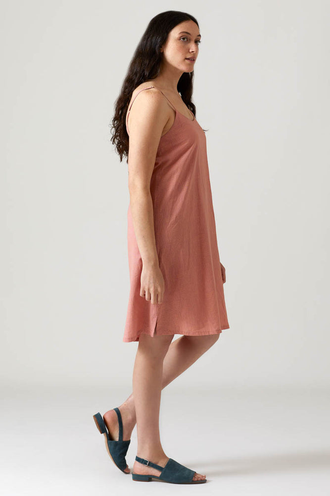 Parquet Slip Dress - Desert Sand