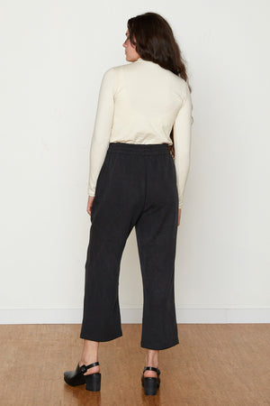 Patricia Gathered Pant - Black