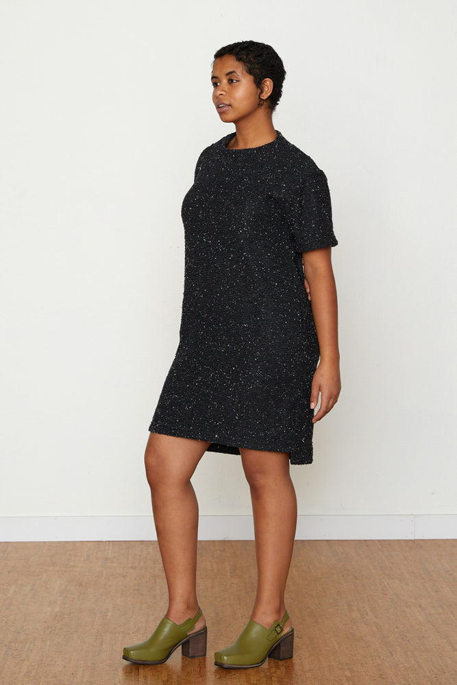 Pebble Knit Dress #2 - Black