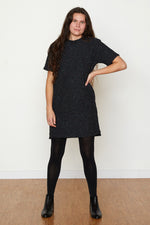 Pebble Knit Dress #2 - Black Rainbow