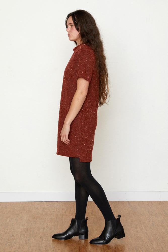 Pebble Knit Dress #2 - Ruby