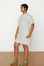 Pebble Knit Dress #2 - Silver