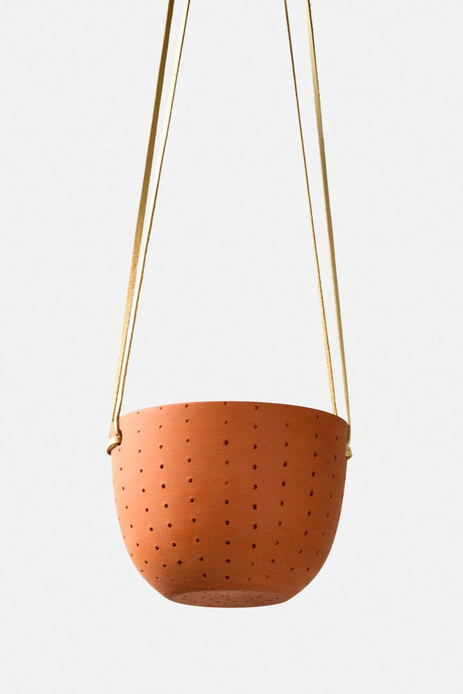 PERFORATED HANGING PLANTER