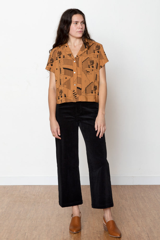 Steps Rizo Blouse - Toffee