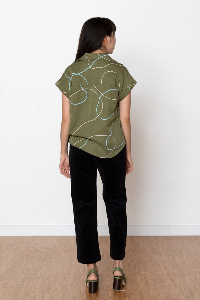 Stones Judy Blouse - Avocado