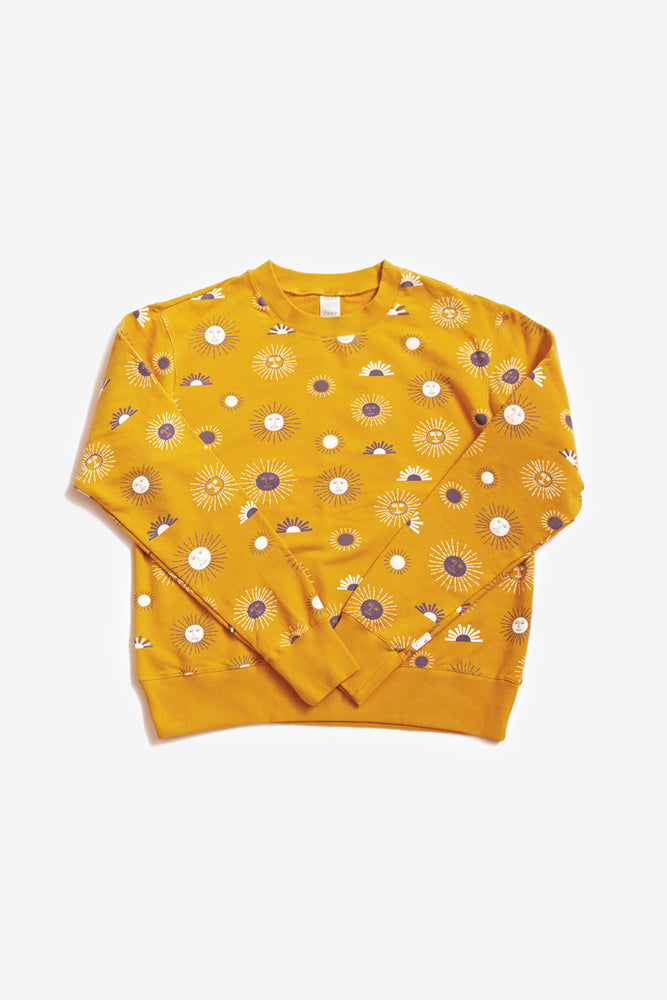 Max Sweatshirt - Golden - Suns
