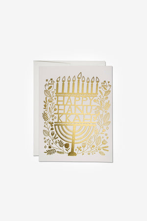 Hanukkah Candles Card