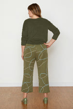 Susan Terry Cloth Pullover - Avocado
