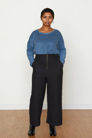 Susan Terry Cloth Pullover - Slate
