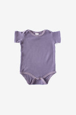 Thermal Short Sleeve Onesie - Moonscape
