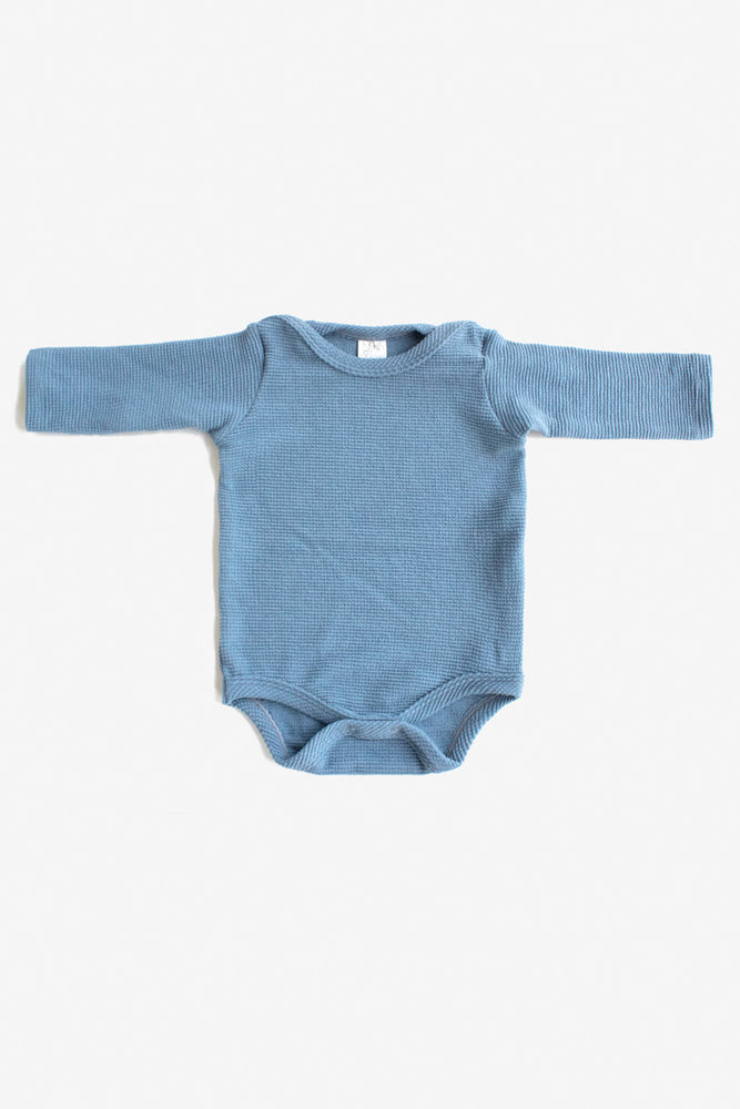 Thermal Long Sleeve Onesie - Slate