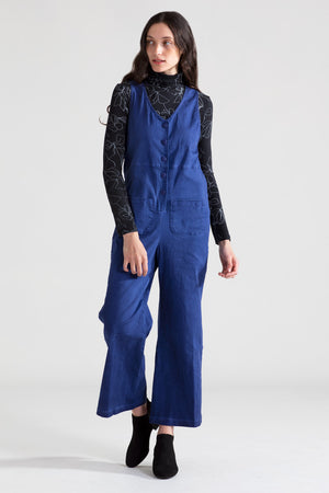 Denim Jumpsuit - Midnight