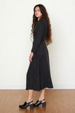Louisa Wrap Dress - Black
