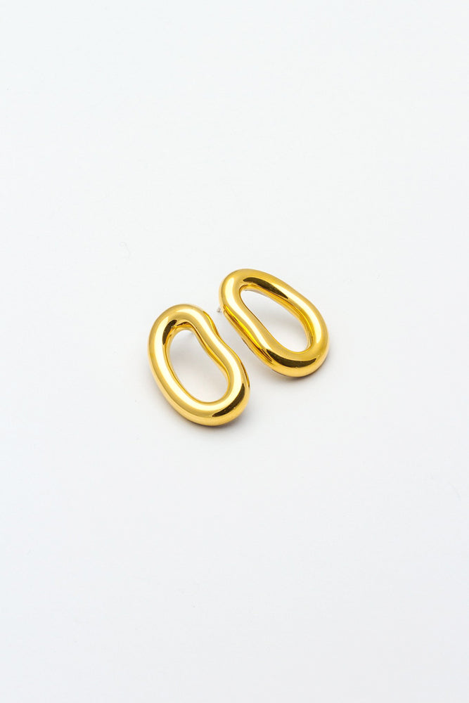 Eman Earrings (Small) - Gold