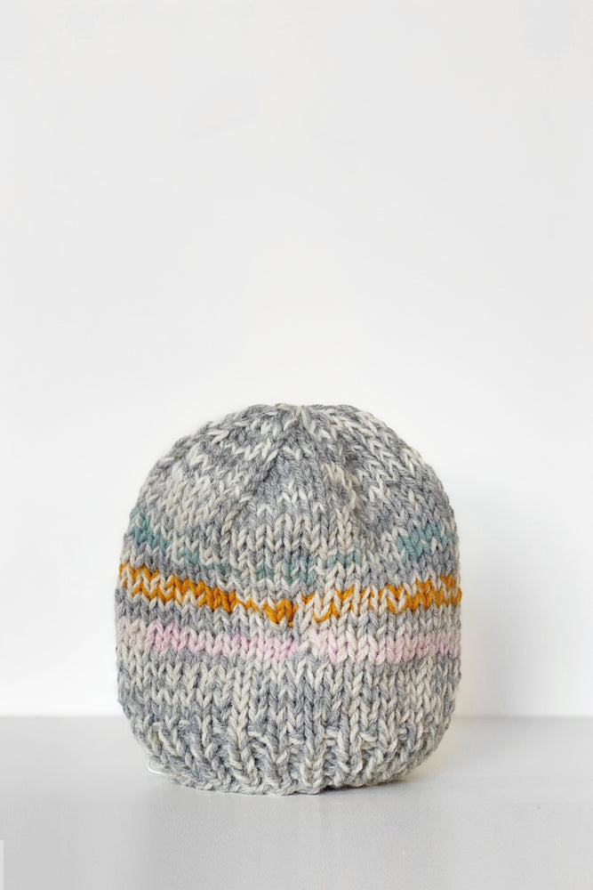 Hand Knit Hat by Mom - Toddler