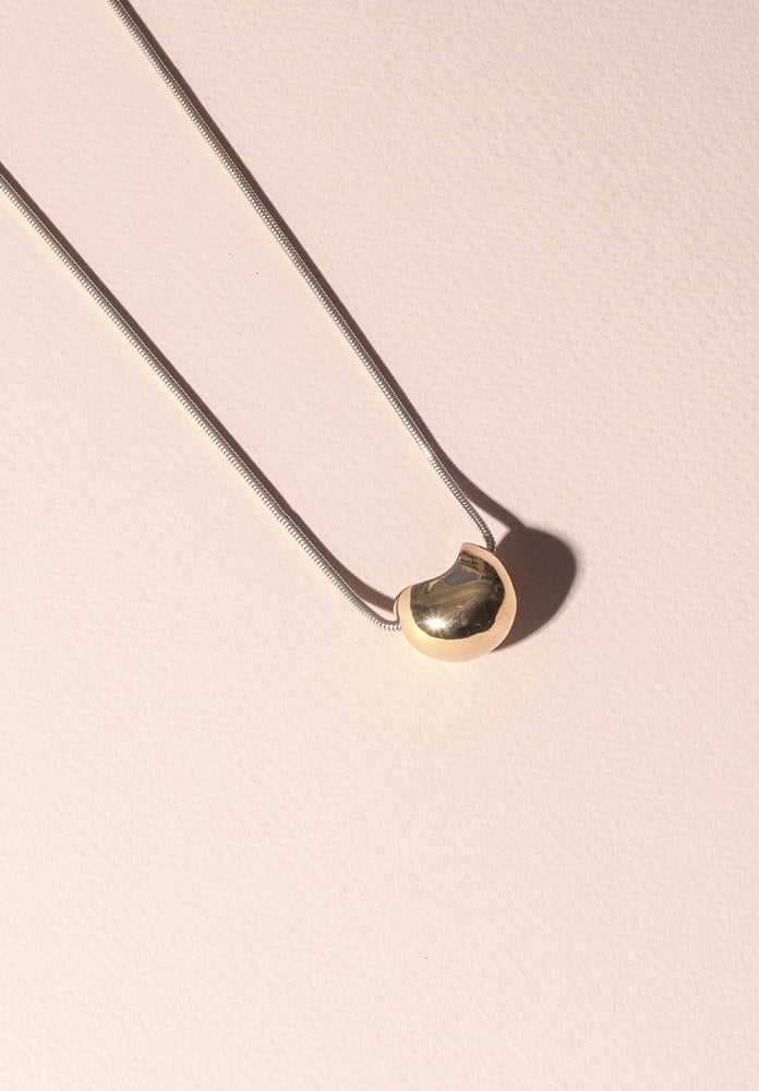 Coron Necklace - Brass