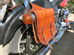 Custom Harley Saddlebags
