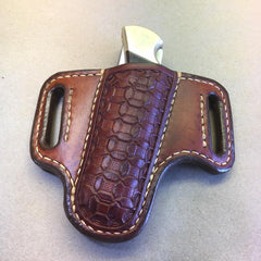 2-Slot Sheath For The Buck 110 Folding Hunter Knife, New Knife Optional