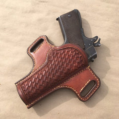 1911 Govt Model OWB Holster..... Handmade from Saddle Leather