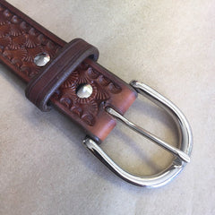 Custom Leather Belt Information and Belts of the Past