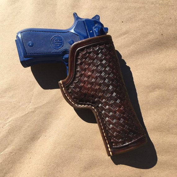 Custom Leather Holster for Beretta 92FS OWB Leather Holster