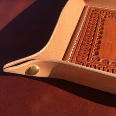 6 X 8 EDC Tray Serpentine Border Pattern
