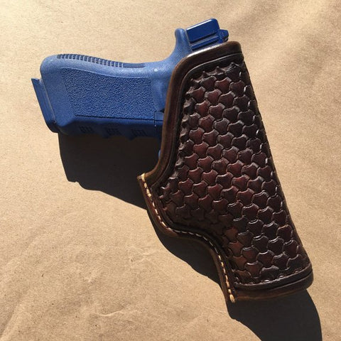 Custom Leather Holster for Glock 17/22/31 OWB Leather Holster