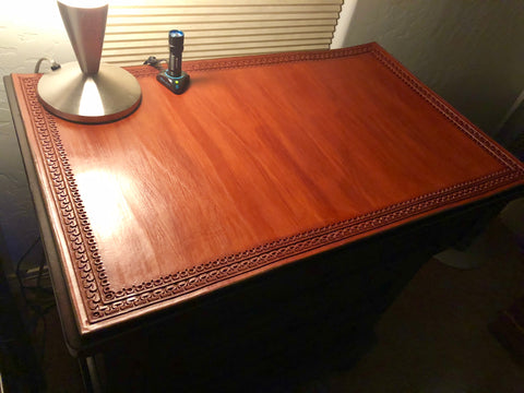 Hand Tooled Dresser Top
