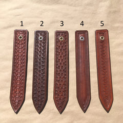 Custom Made Tooled Leather Dog Collars