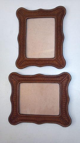 5x7 Custom Leather Photo or Mirror Frame