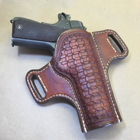 1911 Govt Model OWB Holster Wafflestamp Tooling