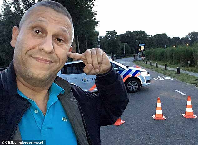 Moment would-be hitman fails to assassinate crime blogger who was killed just hours later 'by drugs gang who invented encrypted phones that are impossible for police to tap'